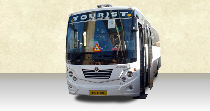 Hire TATA LP 42 Semi Large 27+2 Seater from India Rental Cars